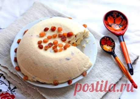 Старинный рецепт сырой пасхи - Пасха творожная от 1001 ЕДА