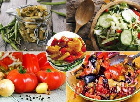 5 вкуснейших овощных заготовок на зиму