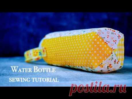 Сумочка под бутылку, лоскутное шитье