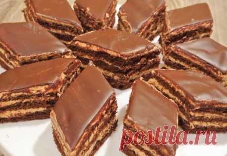 Нежный торт-пирожное с изумительным кремом