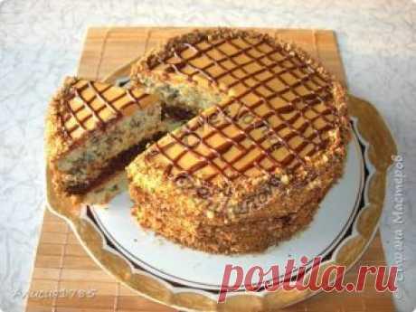 Домашний торт «Витязь» очень вкусный и несложный в приготовлении | Страна Мастеров