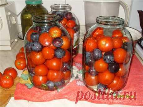 Помидоры с синими сливами Помидоры с синими сливами — находка зимой Давно пробовал такие помидоры. Взял...