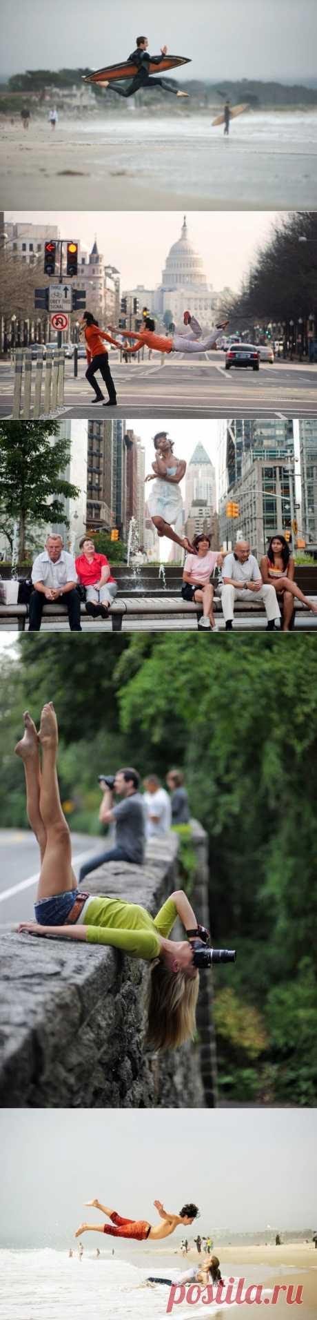 Танцоры балета развлекаются : НОВОСТИ В ФОТОГРАФИЯХ