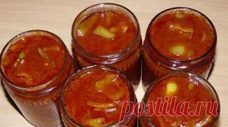 Лечо из перца и помидор без уксуса по закарпатски