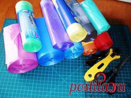 Вязание из полиэтиленовых пакетов. 19 видео уроков - Сам себе волшебник