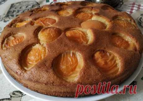 (8) Абрикосовый пирог - пошаговый рецепт с фото. Автор рецепта @eto_vkusniy_blog Айнура . - Cookpad