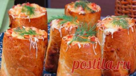 Фаршированный багет – пошаговый рецепт с фотографиями