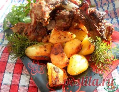 Ребрышки, запеченные с картофелем – кулинарный рецепт