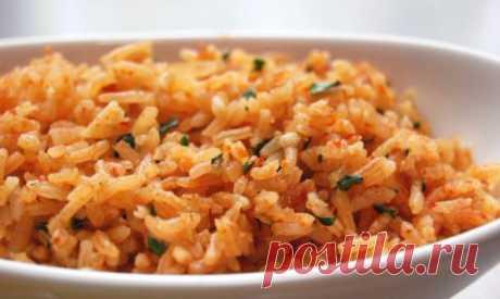 Правила приготовления риса