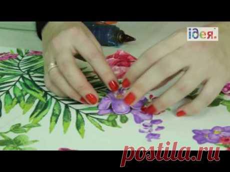 Жесткий ламбрекен своими руками за 10 минут - Текстильный Центр ИДЕЯ