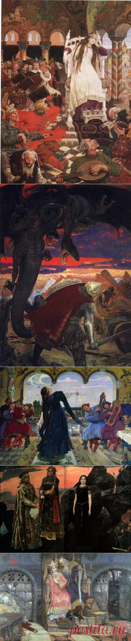 Художник-славянист Васнецов Виктор Михайлович, ч.1
