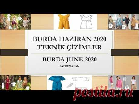 burda style june 2020