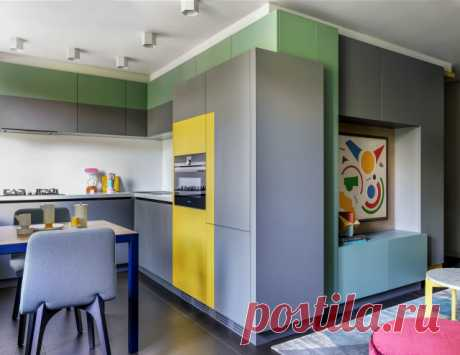 Как обыграть торец кухни в кухне-гостиной – 25 идей с фото красивого оформления торца кухни | Houzz Россия