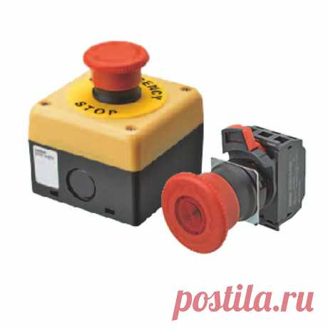 Кнопочные выключатели аварийного останова купить в Минске, цены в интернет магазине Беларуси