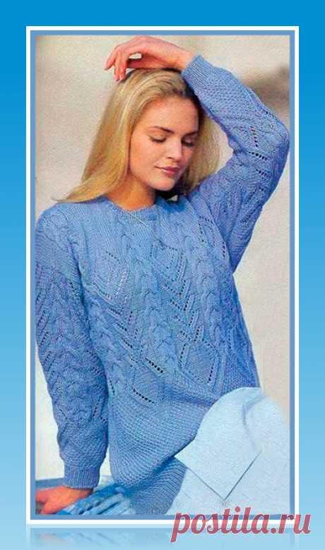 Вяжем пуловеры, жакеты, джемпера. Красивые модели. Схемы, выкройка, описание работы | 101секрет | Яндекс Дзен