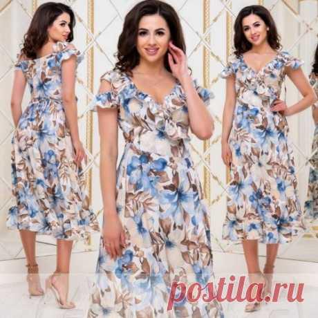 Платье с цветочным принтом : более 300 новинок летних платьев от 1900 руб. Есть доставка. Скидки.