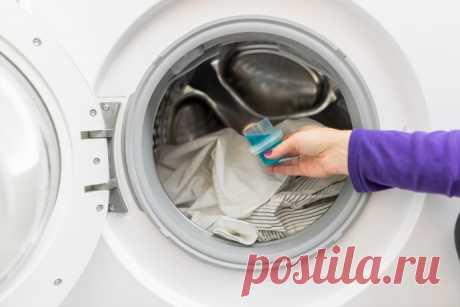 Почему для стиральной машины лучше, когда порошок засыпают прямо в барабан с вещами