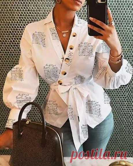 Какие они блузки и рубашки, которые считаются самыми модными весной/летом 2020 | Краше Всех