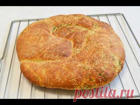 Каждый день готовлю и не надоедает и за хлебом не надо ходить ЛЕПЕШКА УКРОПНАЯ АРОМАТНАЯ МЯГКАЯ