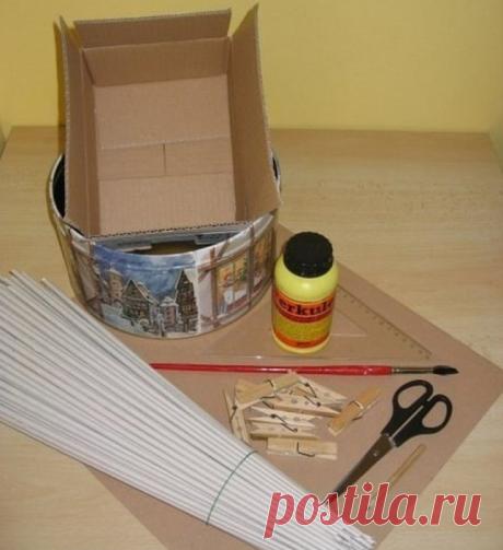 ЭТИ потрясающие корзинки сделаны полностью из газет | KaifZona.Ru