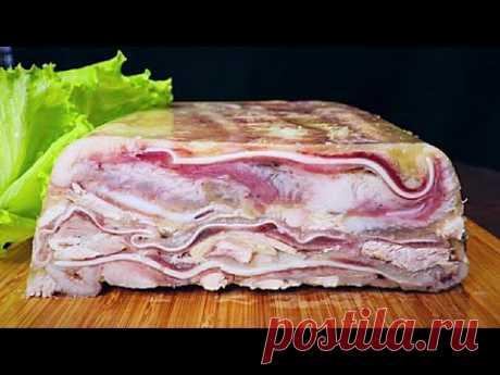 Кладу мясо в форму и получаю вкуснейшую закуску! ПРОСТО до безобразия!