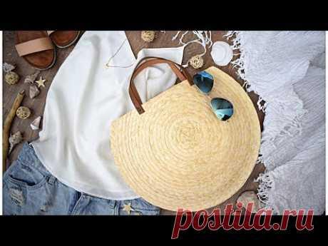 ¡La bolsa de playa por las manos!   DIY ideas