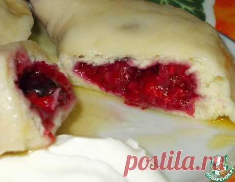Пышные вареники с ягодами – кулинарный рецепт