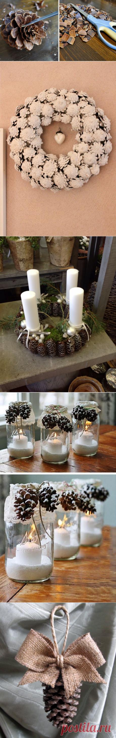 Мастерица знает как сэкономить на новогоднем декоре. Она превратила свой дом в сказку