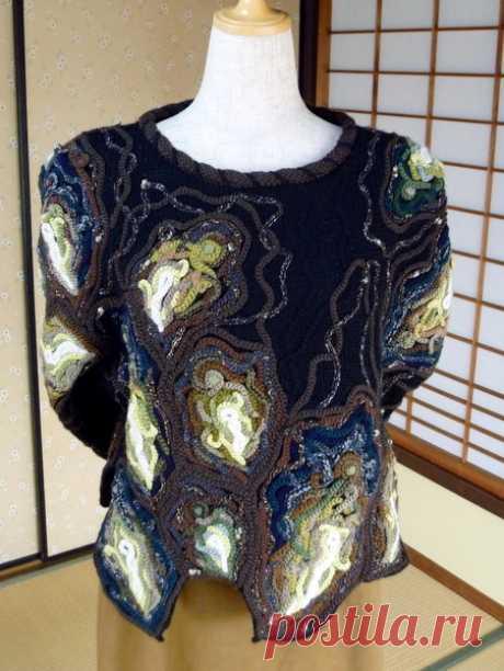 Красивое вязание от YOKO ASADA
