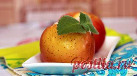 Как приготовить печеные яблоки в духовке - быстро и вкусно