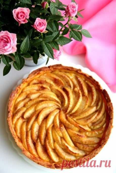 Яблочный тарт с заварным кремом. - Люблю готовить. — LiveJournal