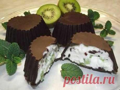 Cottage cheese dessert in chocolate - Perchinka the hostess