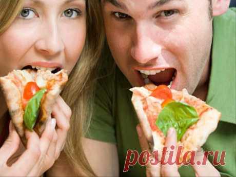Вот, что происходит с вашим организмом, когда вы съедаете всего 1 кусок пиццы
