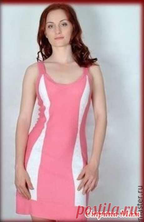 . Вяжем платье  на однофонтурной  машине ( полное подробное описание ) Думаю, кому-то обязательно пригодится )