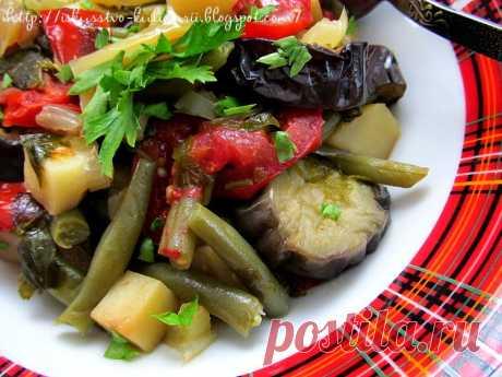 Айлазан - овощное рагу по-армянски