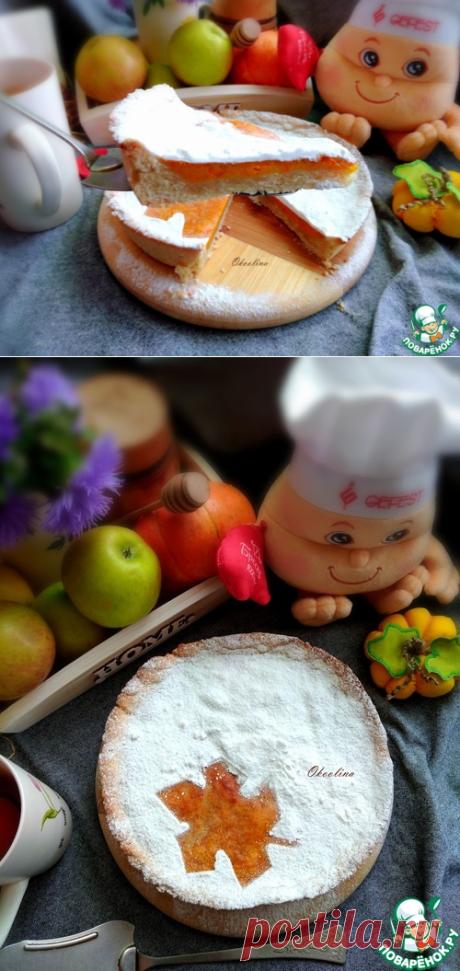 Песочный пирог с тыквенным суфле – кулинарный рецепт