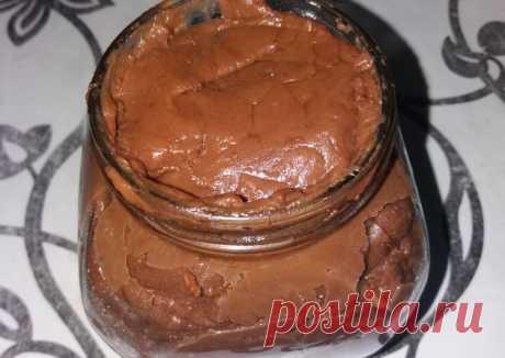 (12) Шоколадная паста - пошаговый рецепт с фото. Автор рецепта Анастасия🏃♂️ . - Cookpad