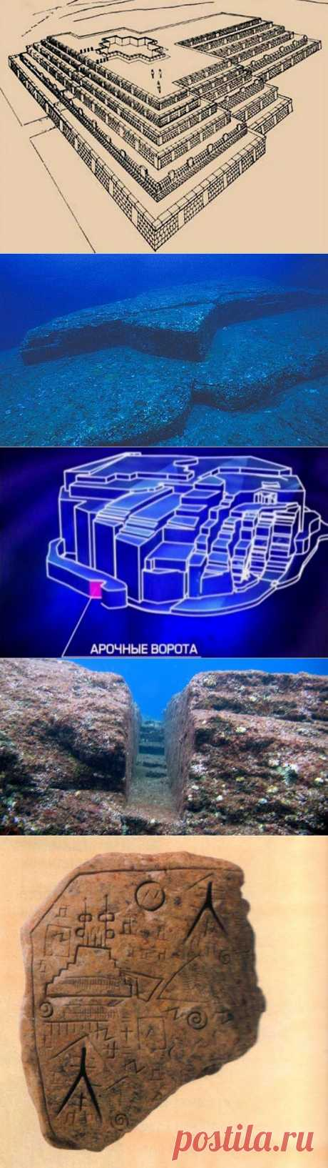 (+1) тема - Подводные пирамиды тайна Йонагуни | Наука и техника