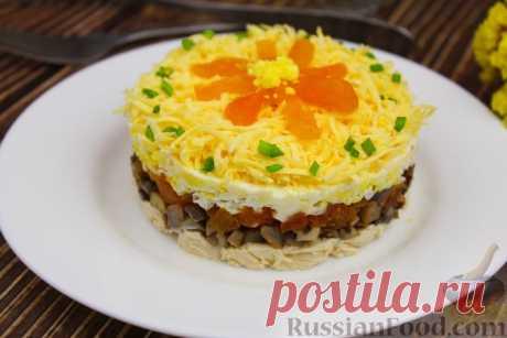 Салат с курицей - подборка лучших рецептов