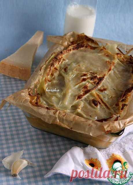 """Капустная """"лазанья"""", диабетическая - кулинарный рецепт"""