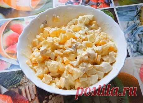 Салат курица с ананасом - классические рецепты очень вкусных салатов