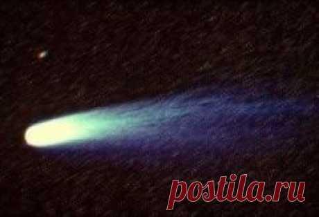 Сегодня 19 мая в 1910 году Земля прошла через хвост кометы Галлея
