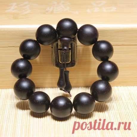 Indian Leaflet Rosewood Beaded Bracelet 20mm Beads Bracelet | Etsy