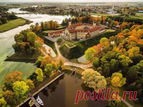 Несвижский замок, Беларусь. Автор фото: Павел Поташников.