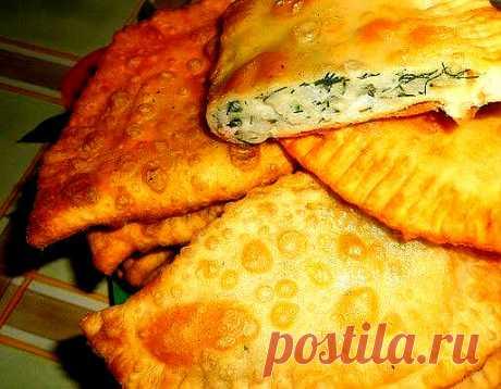 Хрустящие чебуреки с сыром и картошкой. Просто и сытно | Вкусно и полезно | Яндекс Дзен