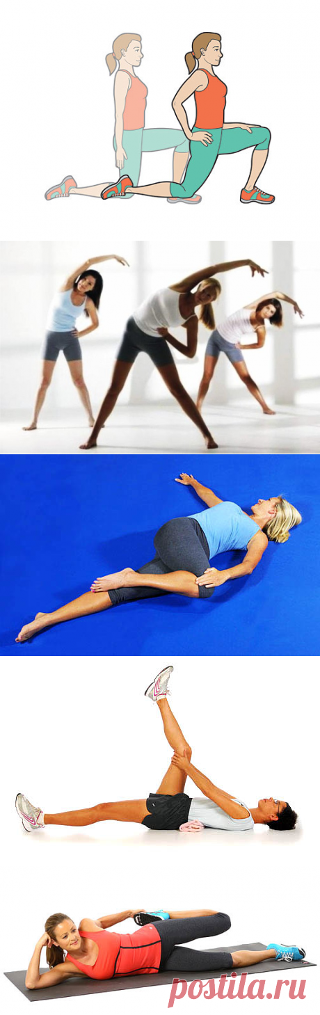 7 упражнений на 7 минут, которые избавят вас от болей в спине