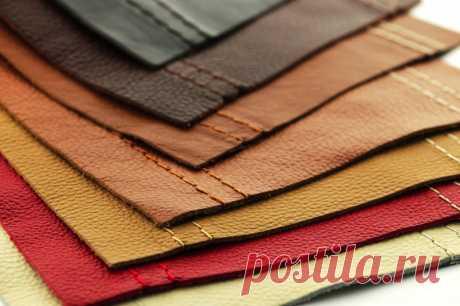 Как отличить настоящую кожу от имитации — Полезные советы