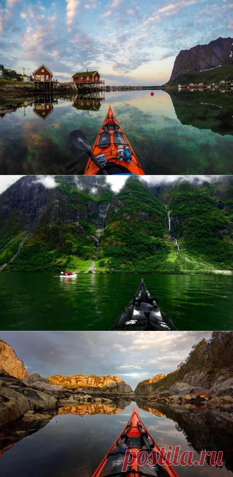 По Норвегии на байдарке — Вокруг Мира