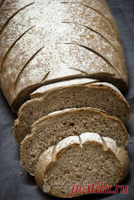 Пшенично-ржаной хлеб на солоде Пшенично-ржаной хлеб на солоде.  Ингредиенты Дрожжи - 4 г Соль - 1 ч. л. с горкой Сахар - 1 ч. л. Мед - 1 ст. л. Вода - 250 мл Мука пшеничная - 220 г Мука ржаная - 130 г Солод ржаной ферментированный …