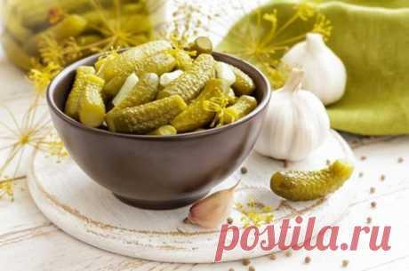Los pepinos en salmuera para el invierno - poshagovyy la receta de la foto en Повар.ру